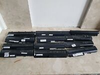 Genuine HP, Toshiba Laptop batteries 12 units for sale