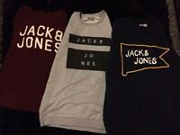 3 jack & jones jumpers