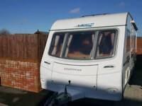 Coachman Laser caravan
