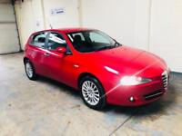Alfa Romeo 147 lusso 1.9 jtdm in immaculate condition 1 years mot cruise control parking sensors