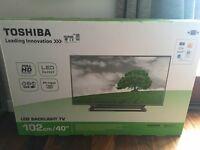 "Toshiba 40"" slimline LED Tv"