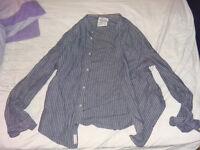Official XL (M) Vintage All Saints Button Shirt *NEW*