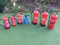 Fire Extinguishers - Shop, Office, Workshop use