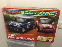 MICRO SCALEXTRIC MINI CHAMPIONS