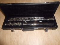 this is a Lindo flute with case in excellent condition