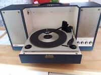 Rgd vintage record player.
