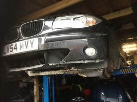 05 BMW 1 SERIES 120 DIESEL FULL CAR BREAKING FOR ANY PARTS CALL ON
