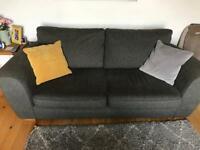 Marks and Spencers Sofa, Round Swivel Chair and Armchair