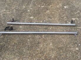 VW transporter t5 60mm Chrome side bars