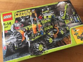 Lego Power Miners Command Rig