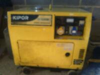Kipor 3500 KV silent diesel generator