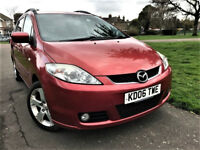 7 Seater --- Mazda5 2.0 Sport 5dr --- Manual --- Part Exchange Welcome --- Drives Good