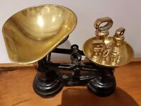 LIBRASCO Traditional Kitchen Scales plus Weights - Excellent Condition