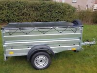 New Trailer cars 6x4 double broadside £650 inc vat