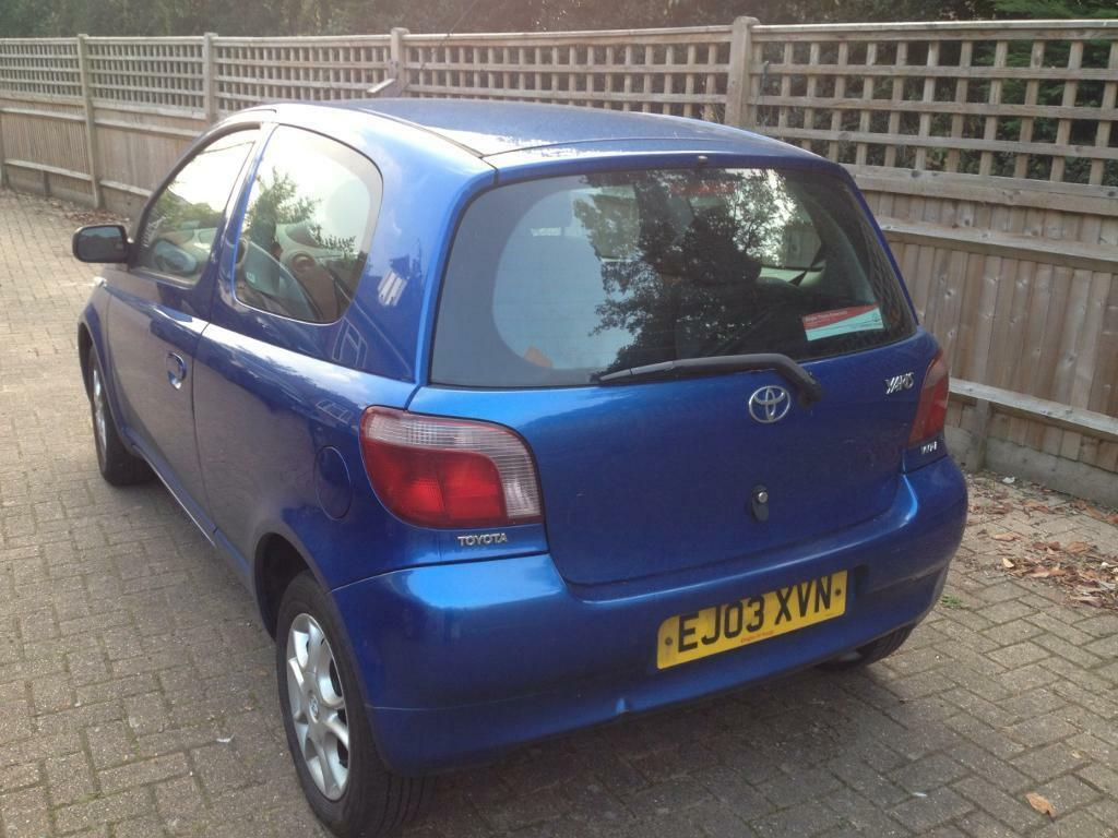 toyota yaris for sale in ash vale hampshire gumtree. Black Bedroom Furniture Sets. Home Design Ideas