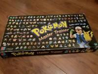 Pokemon Master Trainer 1999 edition near complete boardgame