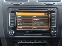 VOLKSWAGEN VW RNS 510 LED SAT NAV CD PLAYER SD CARD 2014