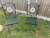 Patio Chairs x 2