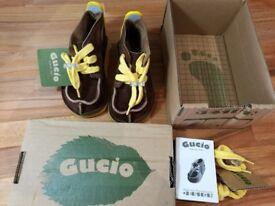 Gucio Children shoes – Chocolate – size 23 EU (6 UK) - NEW