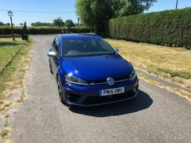2015 VW GOLF R DSG LEATHER LAPIZ BLUE