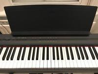 Keyboard YAMAHA P105 Black with stand and pedal