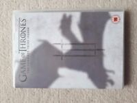 game of thrones seasons 1,3,4,5,6. As new condition- sell as a set or separately