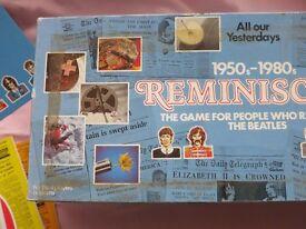 Reminising Board Game