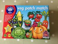Orchard Games - Veg Patch Match game. Brand New, sealed