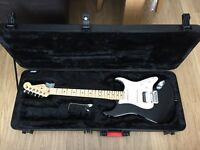 Fender American Standard Stratocaster. 2016. Black.Maple neck. Perfect, unblemished condition.
