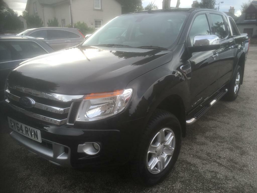 2014 64 Ford ranger 2.2 limited d/cab (24000 MILES )