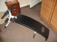 AB Crunch Fitness Bench