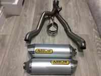 Gsxr 1000 k9 arrow exhaust system