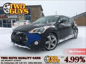 2014 Hyundai Veloster LEATHER NAVIGATION SUN ROOF 4 NEW TIRES