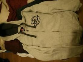 Quicksilver white hoodie