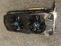 Swap graphics card for an nvidia 960 upwards or money