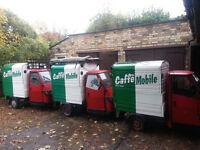 Caffe Mobile seeks Part-Time Baker/Barista