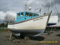 Fishing Boat IP24 1.5BMC Diesel Engine Cruiser Work Boat