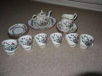 Duchess Fine Bone Tea Set