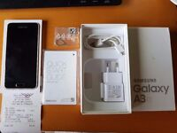 Samsung Galaxy A3 2016 Gold / Excelent,unmarked condition,simlockfree,Swap for computer