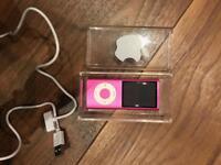 Pink iPod Nano 4th Gen