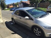 HONDA CIVIC CTDI 2006 DIESEL , GOOD CONDITION , MOT UNTIL MARCH 2017 , 4 GOOD TYRES , PERFECT RUNNER
