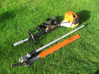 Stihl kombi km 85 hedge cutter