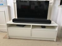 TV Stand - White - Great Condition