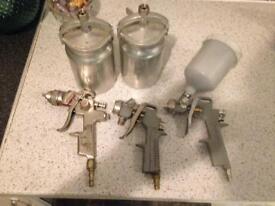 Spray guns & pots