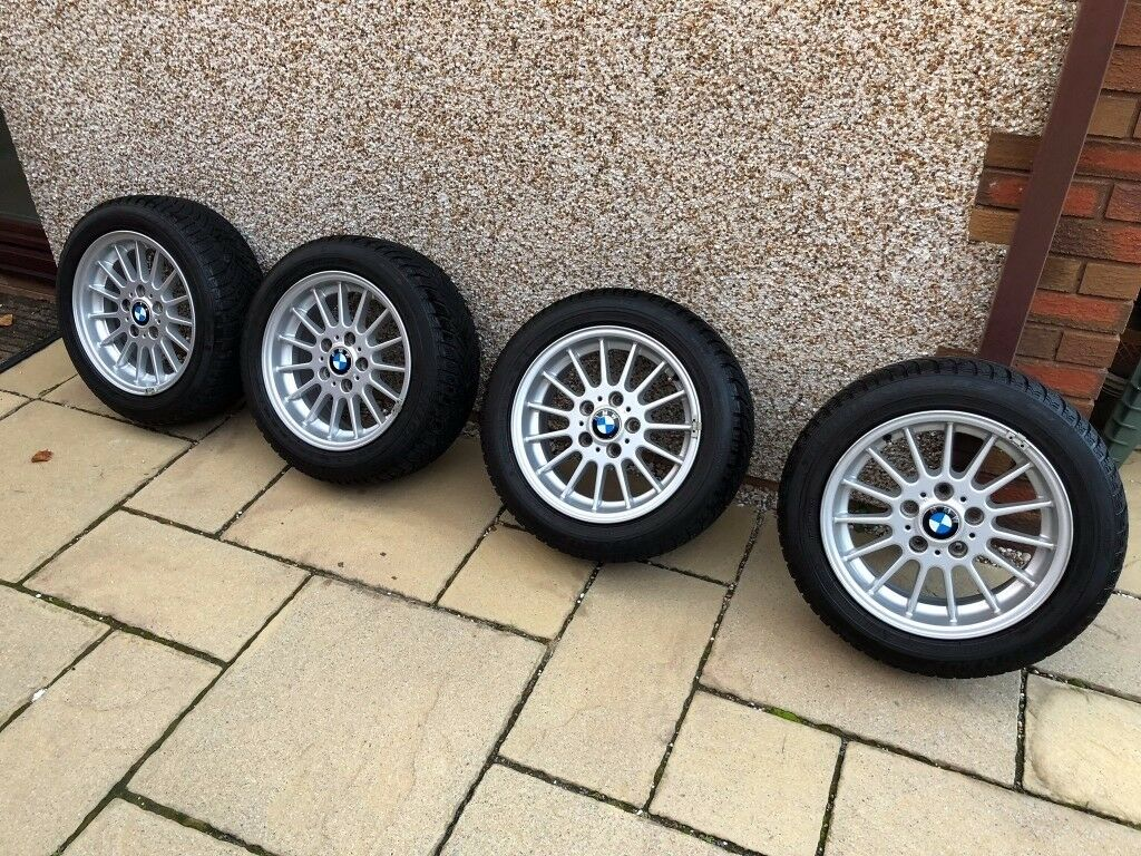 Winter Wheels: 4 x BMW Wheels & 205/55/16 Dunlop SP Winter Sport Tyres all in great condition