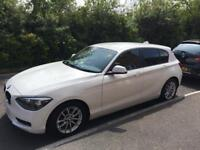 BMW 1 Series 2013 white 5 door