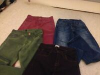 Boys Zara Coloured Jeans various sizes
