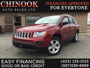 2013 Jeep Compass Sport/North 4x4 w/Cruise Control