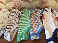 Baby boy vests x6