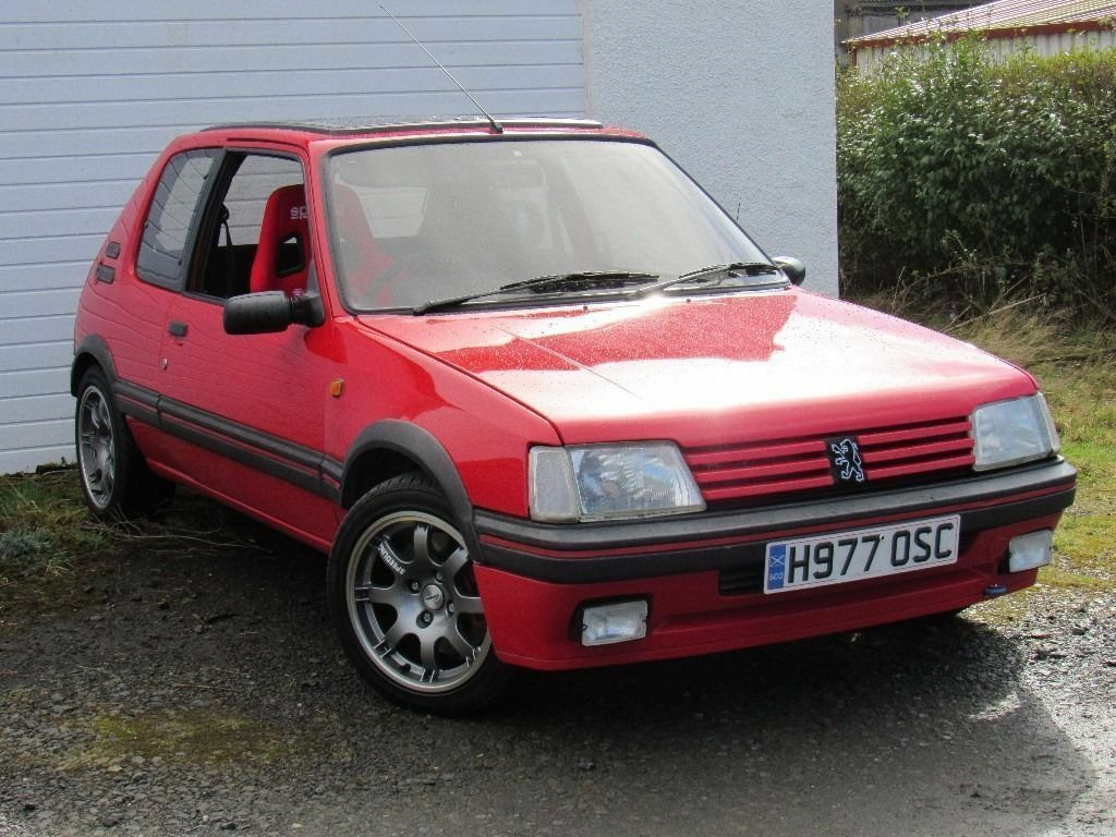 peugeot 205 peugeot 205 gti turbo 200bhp 406 sri turbo conversion in southside. Black Bedroom Furniture Sets. Home Design Ideas